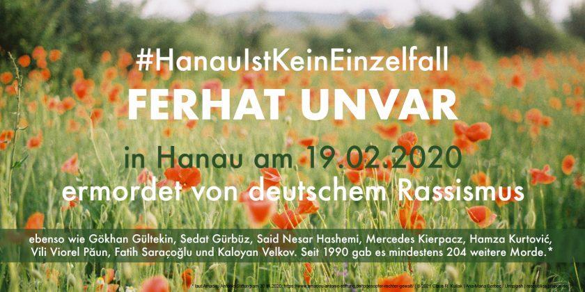 Erinnerung an die Opfer des Anschlages von Hanau am 19.02.2020   © 2021 Claus R. Kullak   Ana-Maria Berbec / Unsplash   respublica.prepon.de